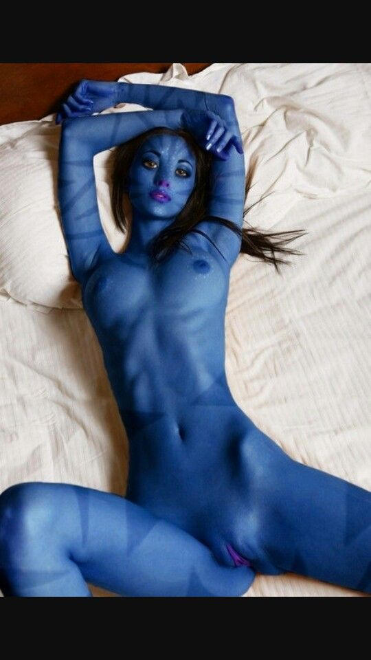 smurf girl naked cosplay