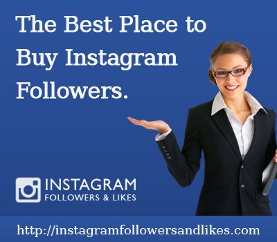 http://instagramfollowersandlikes.com/instagram-followers/- Buy instagram followers Instagram isn't going endlessly. In only three short years, it has developed to more than 150 million clients. It is on a speedier way of development than Pinterest, Twitter, and Facebook. With 60% of clients outside of the United States, Instagram has a worldwide span, and your universal picture can't manage the cost of not to be enthusiastic about Instagram.
