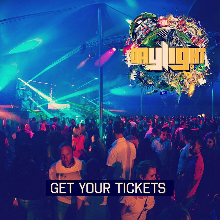 Daylight 2014! Get your tickets