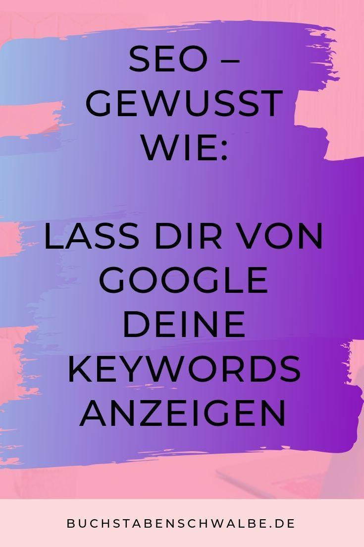 SEO-Tipp: Holen Sie sich Ihre Keywords bei Google