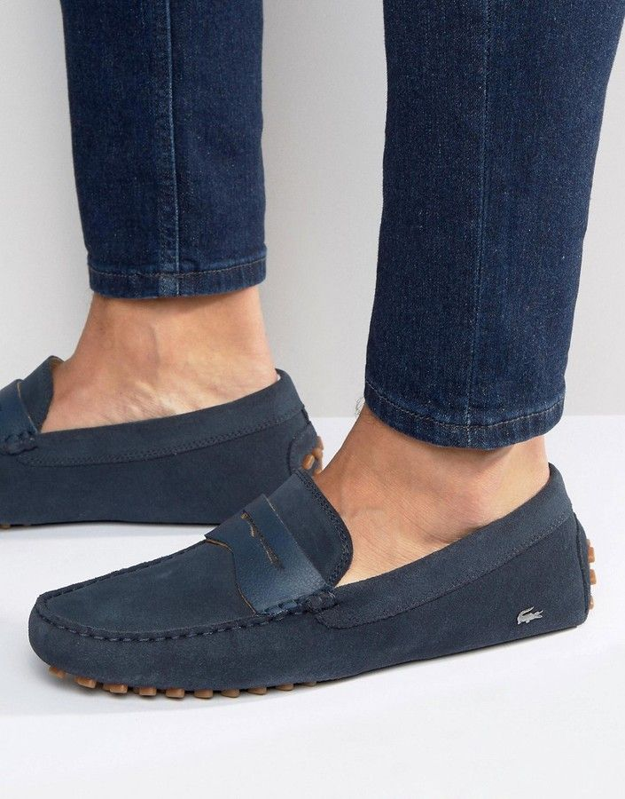 Designer Lacoste Loafers in
