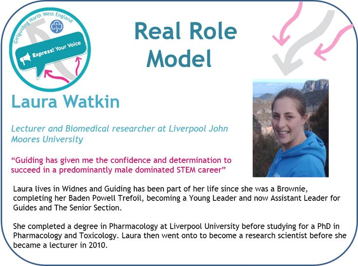 Real Role Model Laura Watkins, Biomedical Science Lecturer