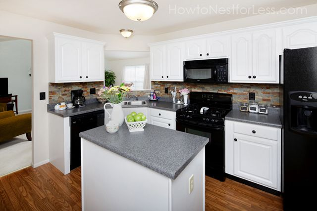 Best 141 Best Kitchens With Black Appliances Images On 400 x 300