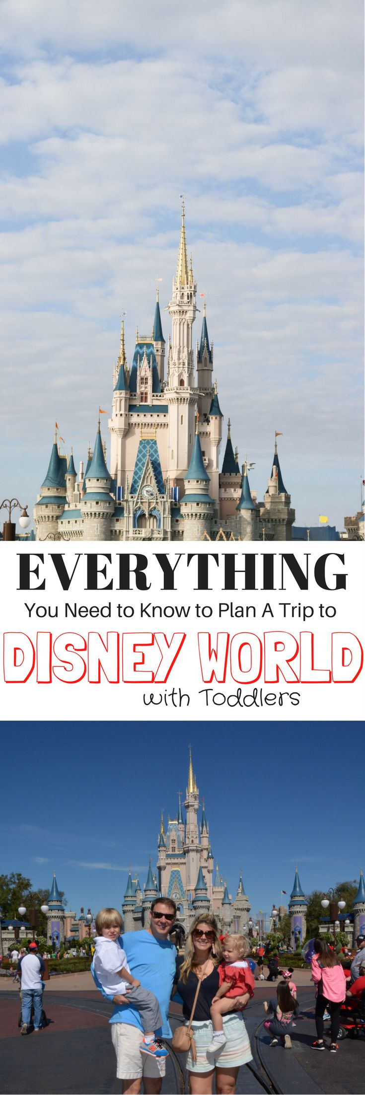 Everything You Need to Know to Plan A Trip to Disney World with Toddlers. Good stroller and babysitter tips
