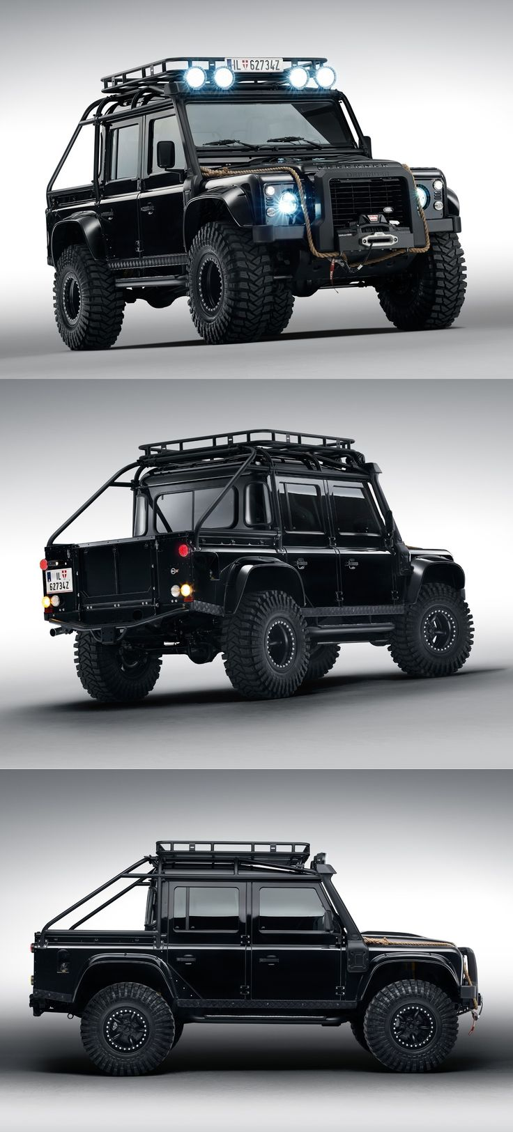 Land Rover Defender from James Bond Spectre