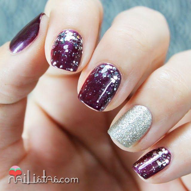 White Nail Polish In Winter: Best 25+ Plum Nails Ideas On Pinterest