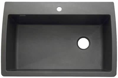 Granite Sinks Blanco : Blanco Granite Single Bowl Sink Undermount or Drop-In - Diamond ...