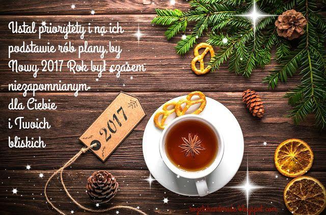 Rozeta handmade: Ustal priorytety i wejdź radosnym krokiem w Nowy 2017 Rok:-)
