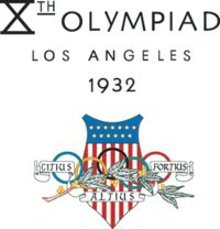 1932 Summer Olympics - Los Angeles, USA. My Great Grandmother went to these Olympics.