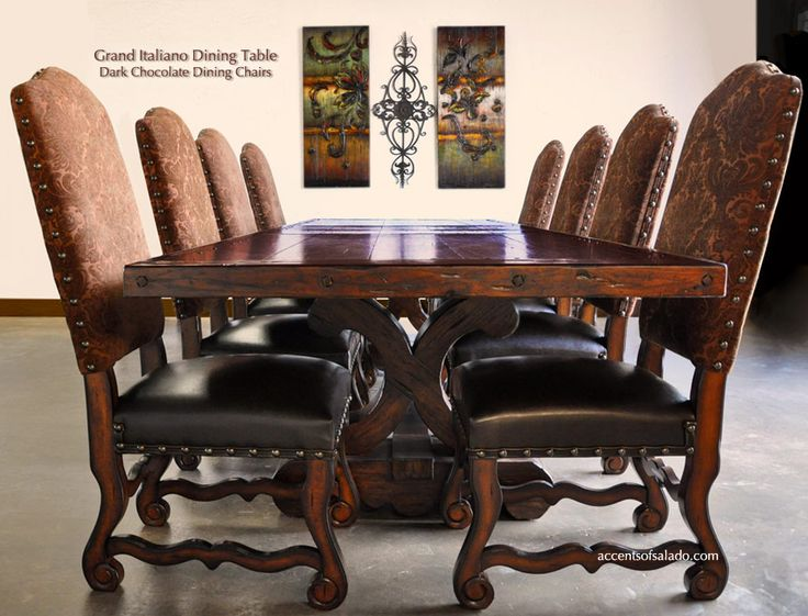 Our Best Selling Tuscan Dining Table   The Grand Italiano. Find It At  Accents Of