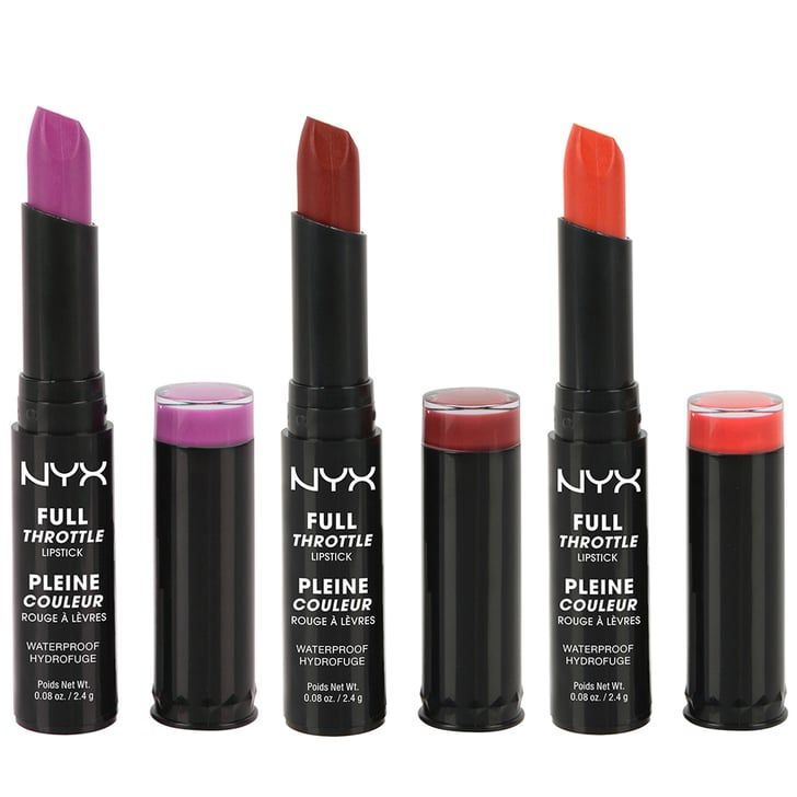 Pin for Later: 35 Standout Drugstore Launches of 2016 NYX Full Throttle Lipstick