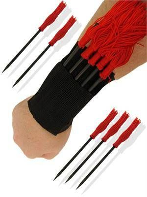 red ninja weapons | Gallery » Ninja Spikes with red tassels • King of Swords – The ...