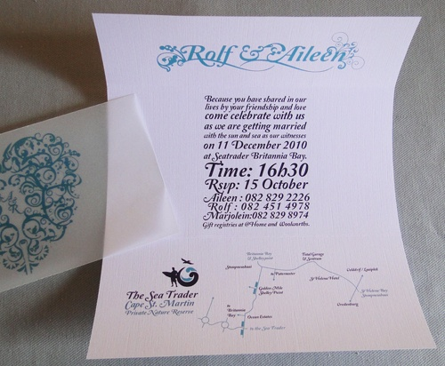 Surfer Wedding Invitation