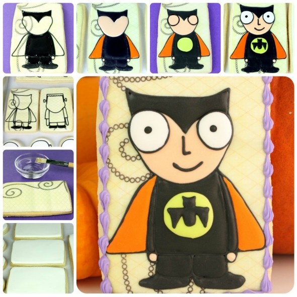 tutorial on cute batman