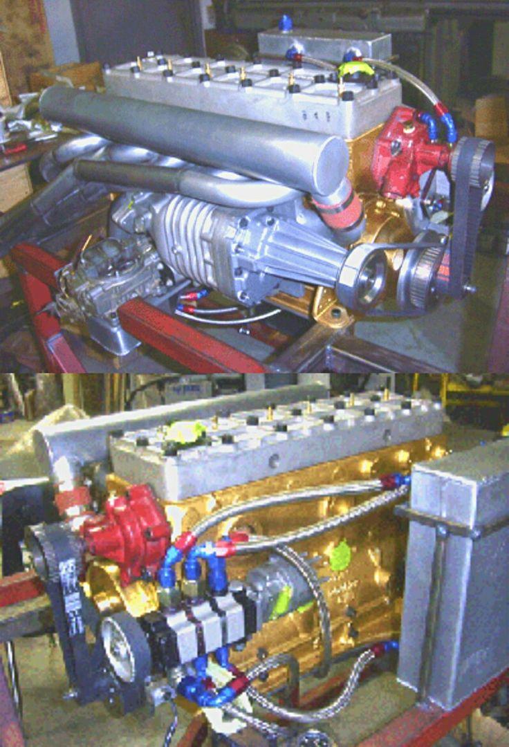 1952 Ford Six Cylinder Engine : Performance hudson hornet flathead cylinder motor