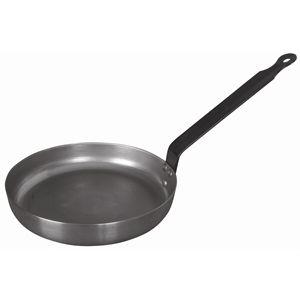 Blue steel omelette pan