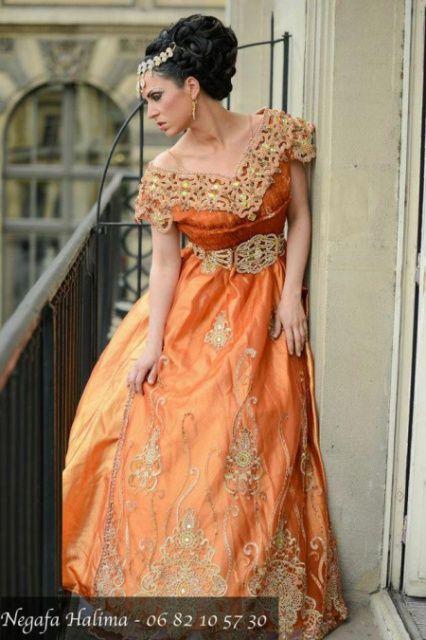 fcda50a9ecf La blouza oranaise  b  La Blouza wahrania la robe de la ville d ...