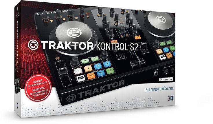 TRAKTOR KONTROL S2 ist das intuitive All-in-one-DJ-System mit 2 Decks für TRAKTOR PRO 2 und TRAKTOR DJ.