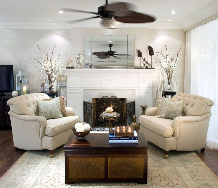 living room by Candice Olson