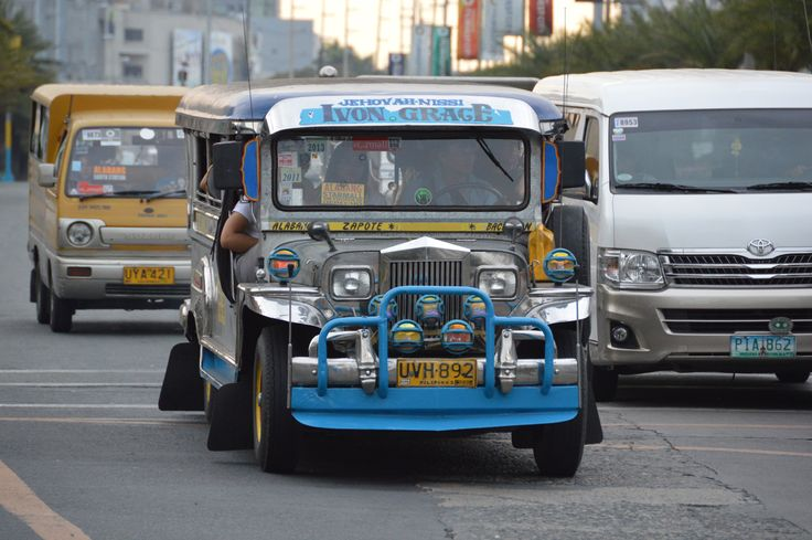 Jeepney in Manilla
