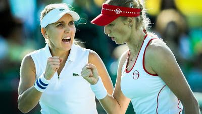 Новости - 24: Рио 2016: Елена Веснина и Екатерина Макарова выигр...