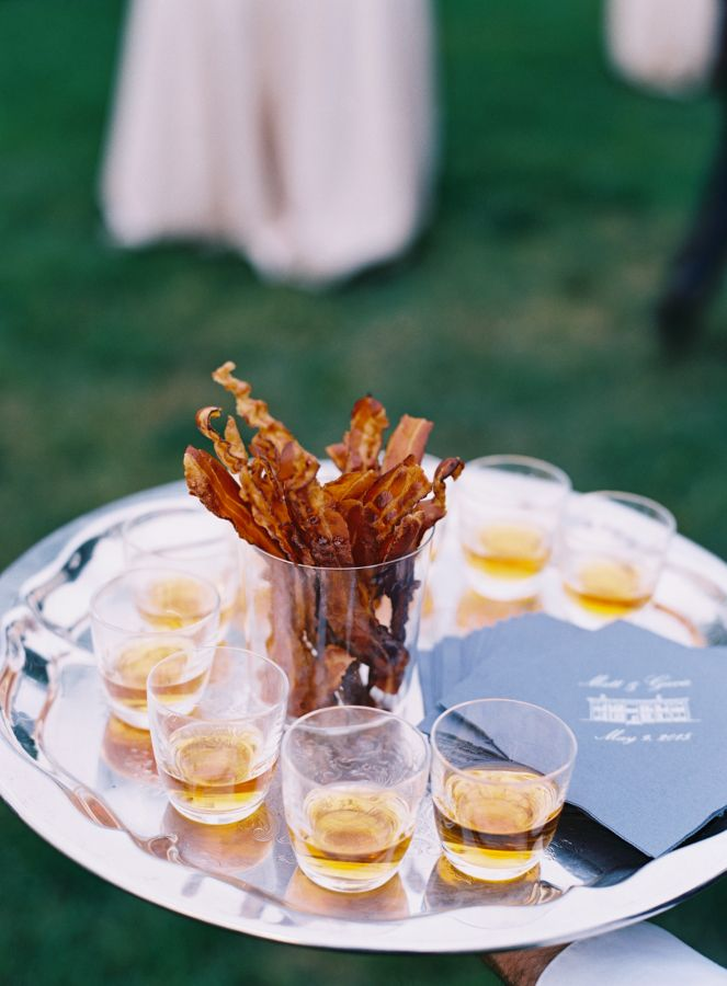 Bacon Bourbon Make This Southern Affair All The More Memorable Bar IdeasSouthern WeddingsSouthern