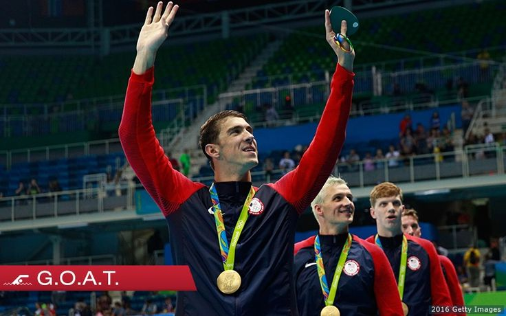 Now (And Forever?), Michael Phelps Has Become The Greatest Olympian Of All Time. Shared by Edith Cruz