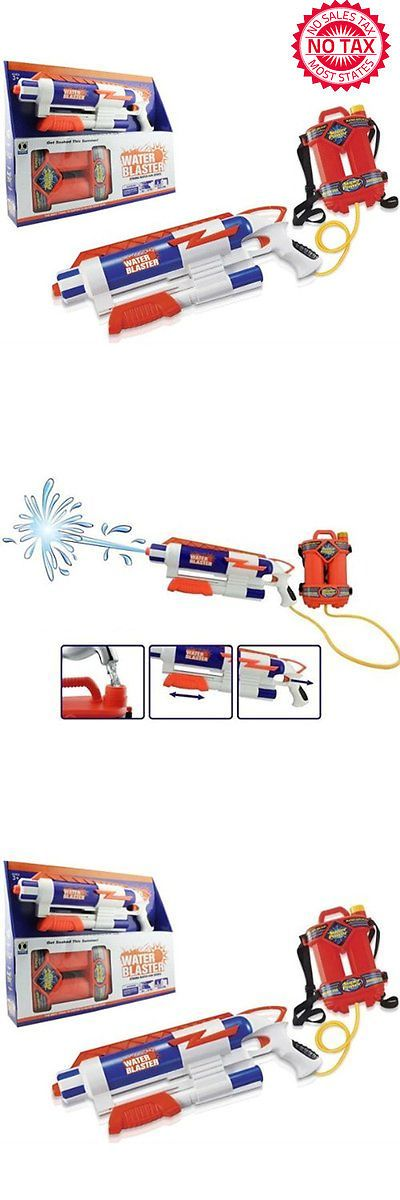 Squirt Toys 145991: Water Gun Blaster High Pressure Pump Action With Tank, Ultimate Spring Summer -> BUY IT NOW ONLY: $37.79 on eBay!