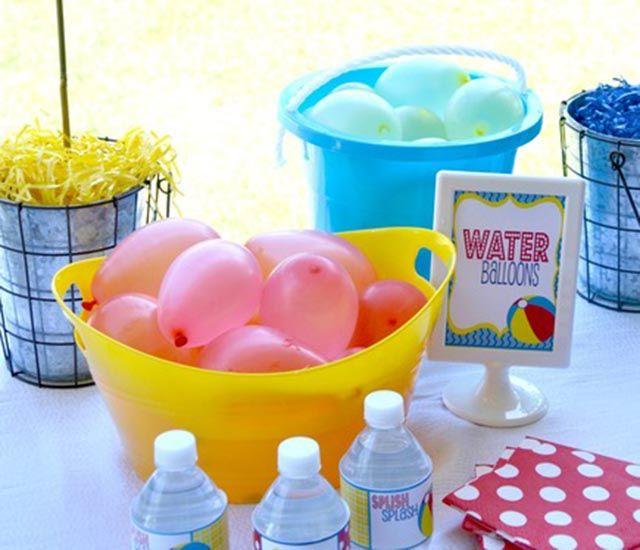 M s de 1000 ideas sobre globos de agua en pinterest for Ideas para cumpleanos en piscina