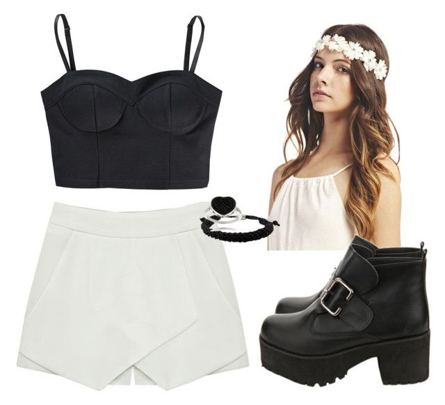 """""""Untitled #366"""" by anamaia17 ❤ liked on Polyvore featuring Wet Seal, adidas NEO and Finesque"""