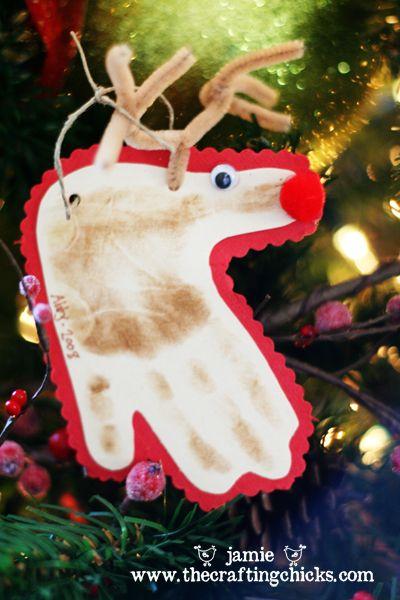 Best 25 Reindeer handprint ideas on Pinterest  Christmas hand