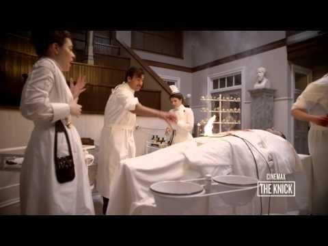 The Knick Season 1: Under Construction - Operating Theater (Cinemax) - YouTube