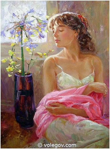 """Tenderness Pink"" by Vladimir Volegov"