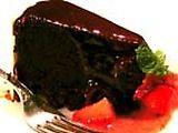Imagem de Bolo de chocolate sem farinha-Kahlua com Cajeta Receita