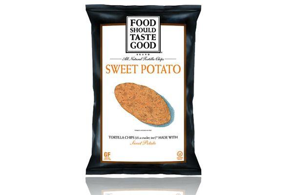 Sweet Potato Tortilla Chips #foodshouldtastegood