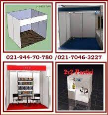spesifikasi :  Quantity komponen : partisi pameran - tinggi post (tiang) 2,5 m - standard : beam lebar 50 mm dan silinder post 40 mm