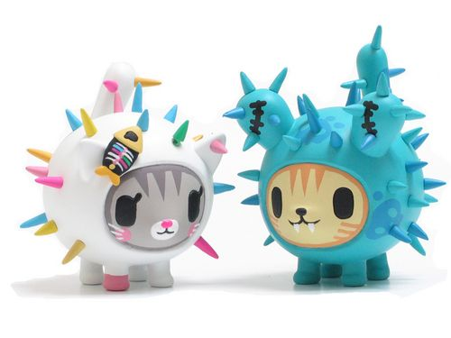Tokidoki Cactus Friends Bruttino and Carina >.< la adoro!!! jejeje