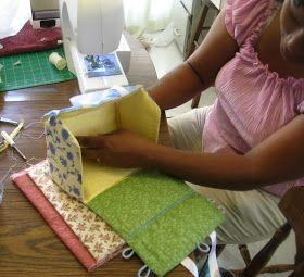 Fabric dollhouse tutorial
