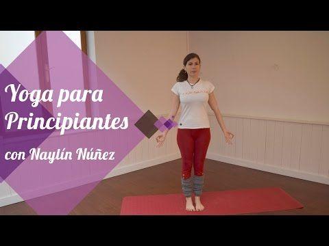 Yoga online - SERIE DE YOGA PARA PRINCIPIANTES - YouTube