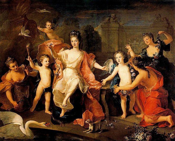 Las enigmáticas pinturas de el Bosco (Misterio resuelto) - Página 3 F49379c1accd0ae3514f360099bf2b7f--duchesse-louis-xiv