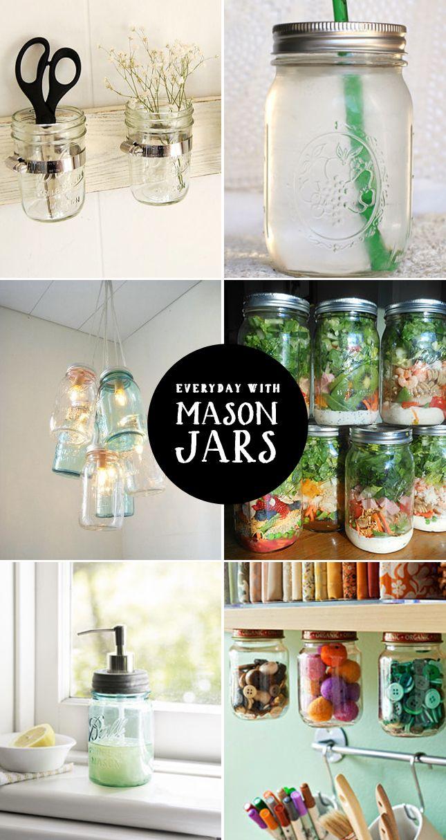 everyday with mason jars~~