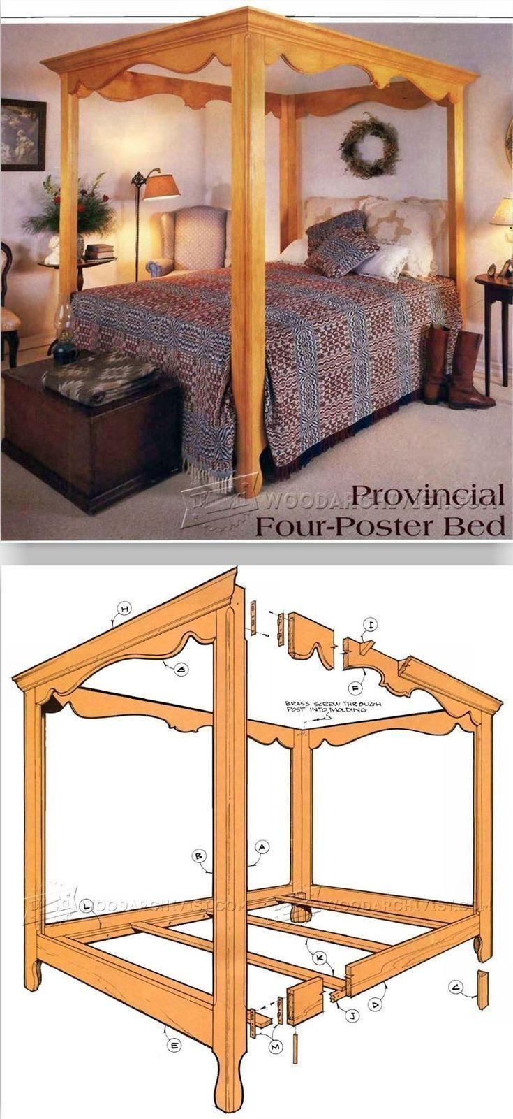 Four Poster Bed Frame Diy