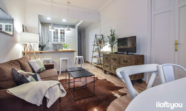#proyectocorcega #iloftyou #interiordesign #barcelona #lowcost #catalunya #ikea #ikeaaddict #salon #livingroom #maisonsdumonde #kenayhome #vintage #industrial #damajuana #eucaliptus #madera #kitchen #tripod #tolix #alfombradevaca #ribba #ikeakitchen #faroiluminacion