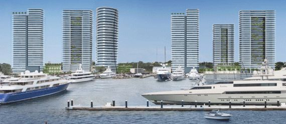 Rybovich Marina in West Palm Beach plans to add six high rise buildings that will include more than 1,000 condos, a beach club, boat slips and even 61,000 sq ft of office space! A great move for WPB!