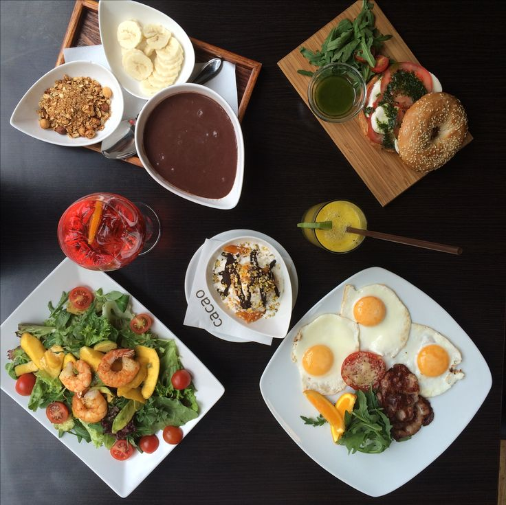 #mango #avocado #salad , #acaibowl , #friedeggs , #superfood , #icecream #taormina at #cacaopraha