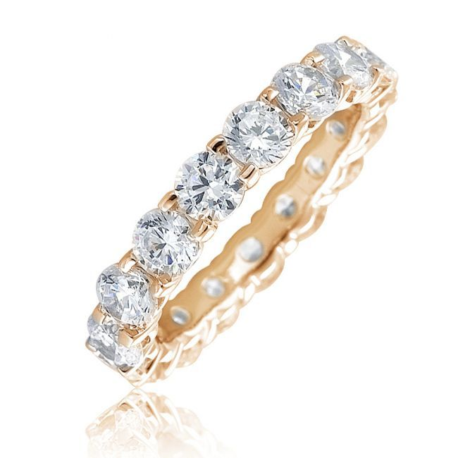 mm band gold yellow diamond eternity ct ring bands mens