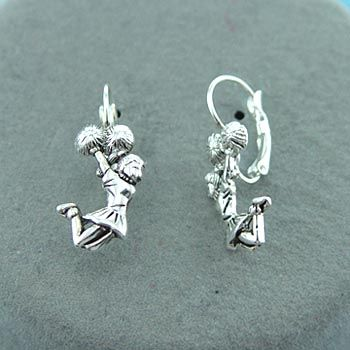 Cute Earrings!!  I would love to buy some for Kimberlyn and tell her that I'll always be her cheerleader.