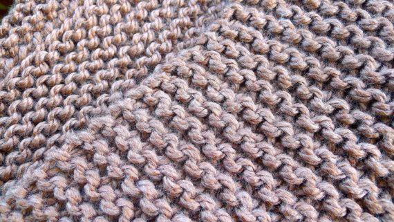 Bufanda de lana gruesa en tostado. Cuello de lana por KEENbyAM
