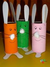 Conigli portacioccolatini