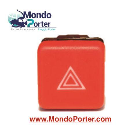 Interruttore Pulsante lampeggiatori emergenza Piaggio Porter b007881
